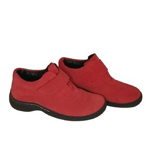 Suede Red Toe Warmers